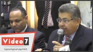 وزير البحث العلمى : هناك خلل فى العلاقة بين الجامعات ورجال الصناعة فى مصر