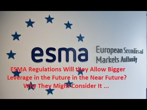 How big is leverage for forex after esma