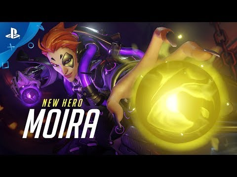 Overwatch - Introducing Moira | PS4 thumbnail