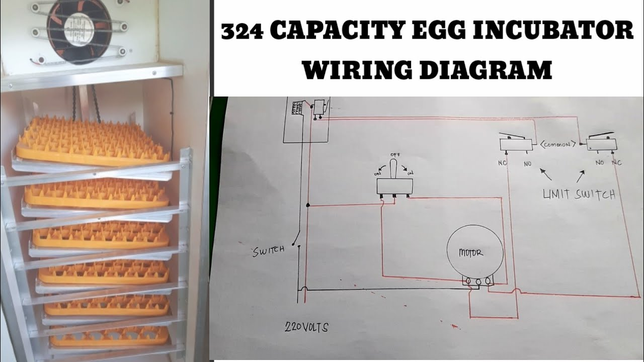Wiring Diagram Ng Aking 324 Capacity Egg Incubator  With