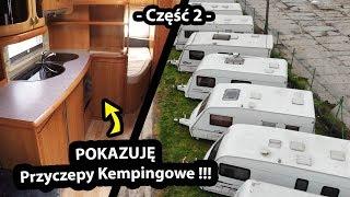 ROOM TOUR po Przyczepach Kempingowych !!! - Przyczepy dla Dużych Rodzin? (Vlog #346)