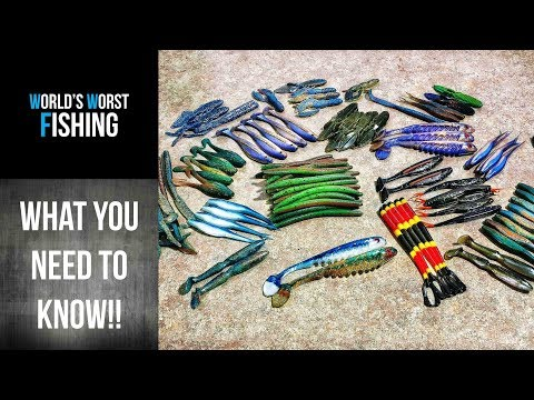 COMPLETE GUIDE TO GETTING STARTED WITH SOFT PLASTIC LURES! How To Get Started Pouring Baits!