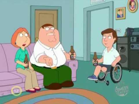 Family guy - Peter páros láb