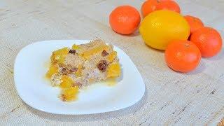 Рецепт запеканки из тыквы в духовке