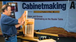 Sommerfeld's Tools For Wood - Arched Raised Panels Made Easy With Marc Sommerfeld - Part 3