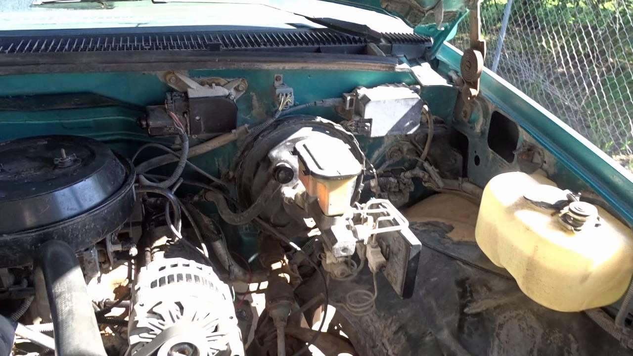 New Project - 1994 Chevy C1500 4 3L 4L60E 2WD