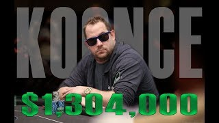 Fifth-Place Finisher Jason Koonce: $1.3 Million Score