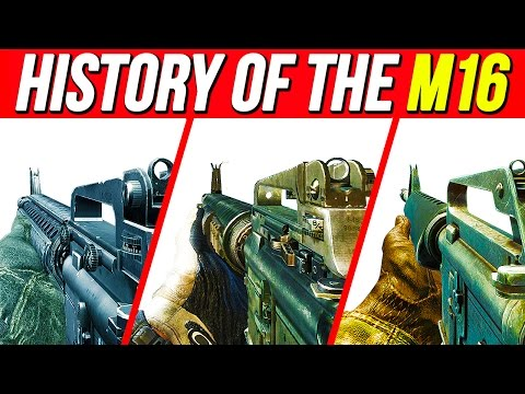 THE HISTORY of the M16 in Call of Duty