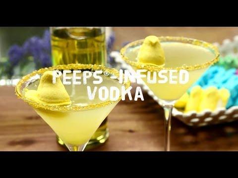 How to Make Peeps Infused Vodka   Easter Recipes   Allrecipes.com