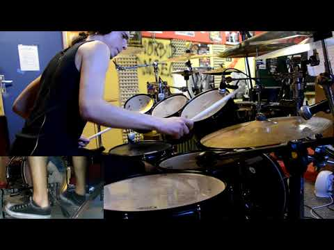 Nile - Annihilation of the Wicked (drum cover) mp3