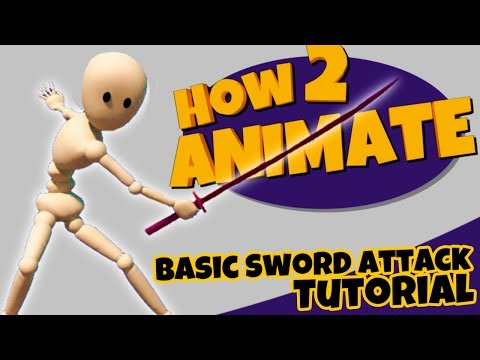 How to animate a Basic Sword Attack | 3D Maya Animation Tutorial for Beginners | HOW 2 ANIMATE