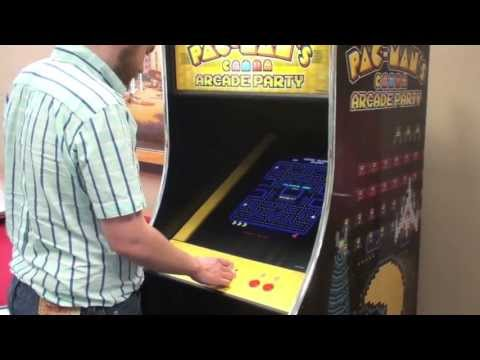 Pac Man's Arcade Party: Coin-Op Version