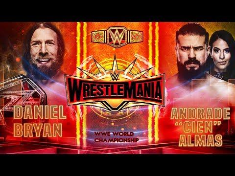 WWE WRESTLEMANIA 35 | DREAM CARD
