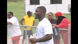 Troymaine Pope Hosts Youth Camp
