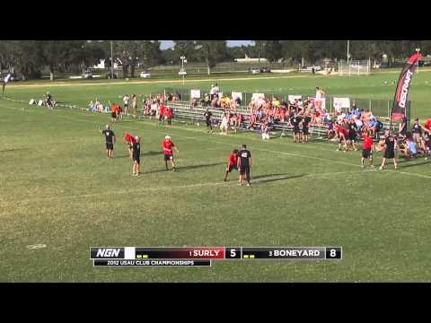 Minneapolis Surly vs Raleigh Boneyard - 2012 USAU Club Nationals - Master's Final (M)