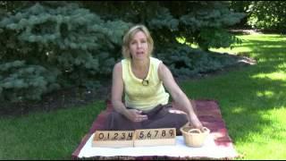 Montessori Math Lesson - Spindle Box