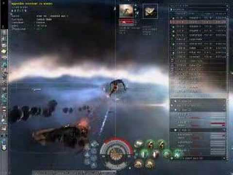 Eve online - When Carebears Attack! - Hulk (Exhumer) PvP