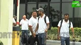EXCLUSIVE: Indian Cricket Team at Delhi Airport before UK tour