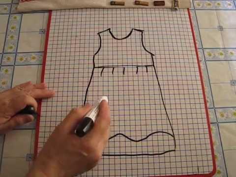 Шьём детям. ЛЮБАКС - Мастер-класс для начинающих. Платье в стиле Ампир (Наташа Ростова)
