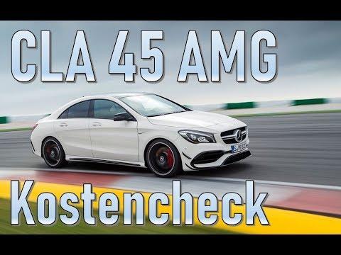 Mercedes Benz CLA 45 AMG (2018) Unterhaltskosten