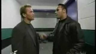 The Rock meets Arnold Schwarzenegger