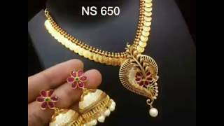 Treditional Gold Laxmi Coin Neckless Collection||New & Fancy Designs Of Gold Laxmi Coin Neckless ||