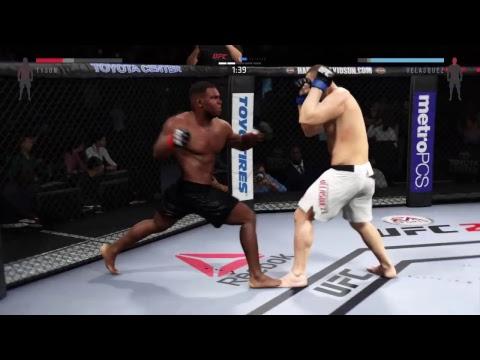 UFC 2 championship - Mike Tyson vs Cain Velasquez