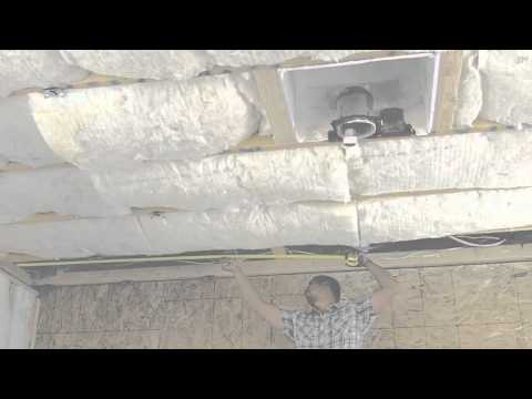 RSIC-1 on Ceilings - SoundProofing Installation How-to Video #5