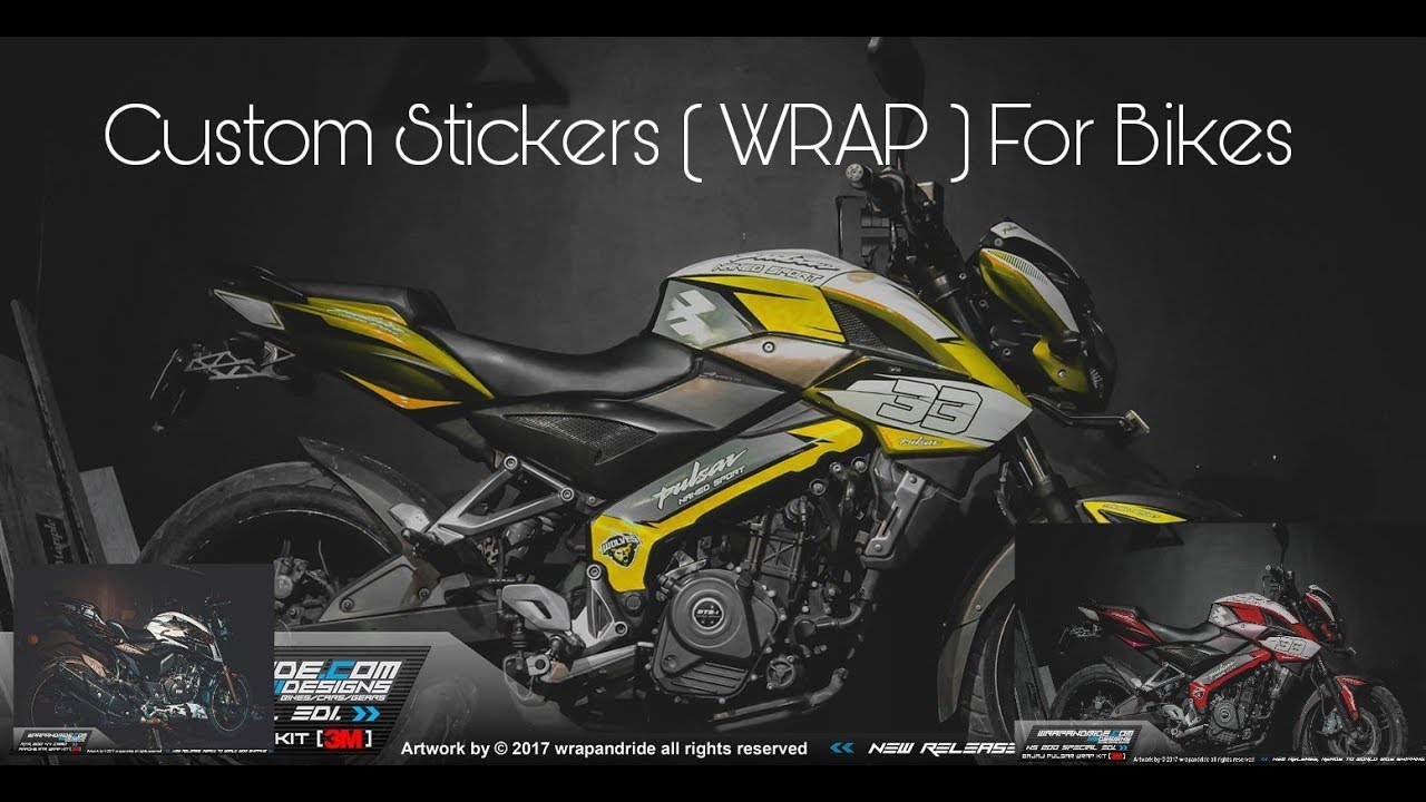 Custom stickers wrap for bikes ktm rc 200 rc 390 duke200 duke390 ns 200 kawasaki z800