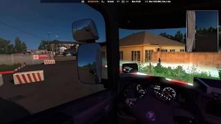 Euro Truck Simulator 2 / Scania Streamline / Kerosene 18 t / Southern Region Promods 2.41