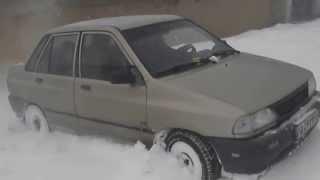 KIA PRIDE IN SNOW (OFF ROAD)