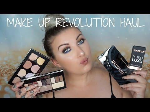 Make Up Revolution Haul + FREE MYSTERY BAG