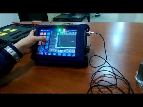 Ultrasonik Hata Dedektörü artık tam ekran görüntü imkanı sunuyor