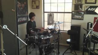 Brett Frederickson Drum Lessons - Students Playing to Blink 182