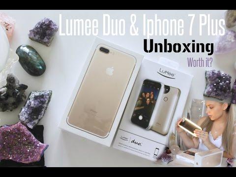 Lumee Duo + Iphone 7 Plus   Unboxing   Worth it?
