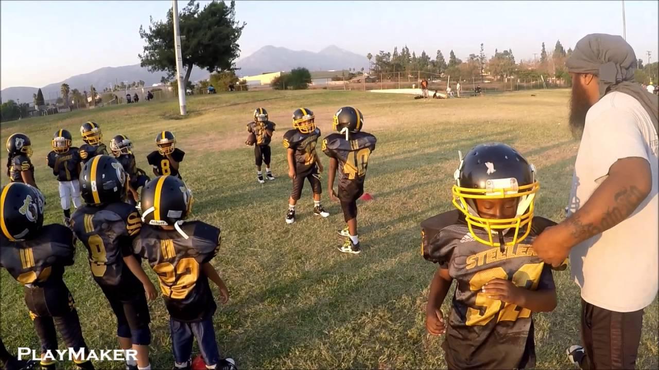 327d580d1 Snoop Youth Football League - 6U Pomona Steelers Practice - YouTube