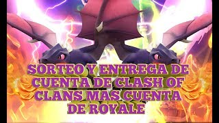 GBP 150 SUBS, DIRECT AND DELIVERY OF ACCOUNT OF CLASH OF CLANS JOINED ROYALE