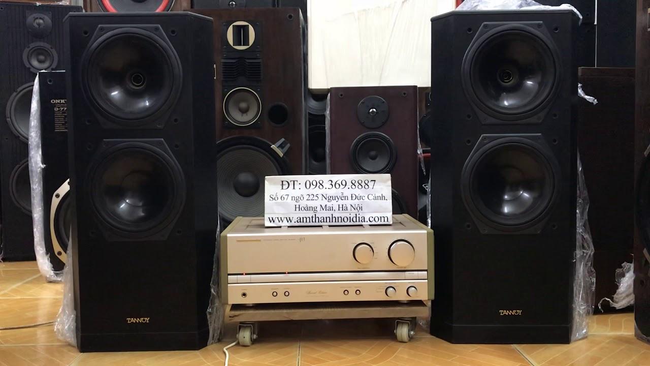 Loa Tannoy 611mkii nghe xuyên đêm ghép bộ cả âm ly Nhật bản chưa bao giờ rẻ và dễ mua thế giá 19,5tr