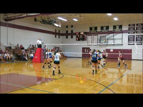 Inter-Lakes HS Volleyball v. Portsmouth Christian Academy 9/9/16