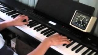 20%近くスピードアップしたオリジナルカラオケでピアノ演奏したものです。 ノーマルスピードで演奏した動画をスピードアップしたのではあり...