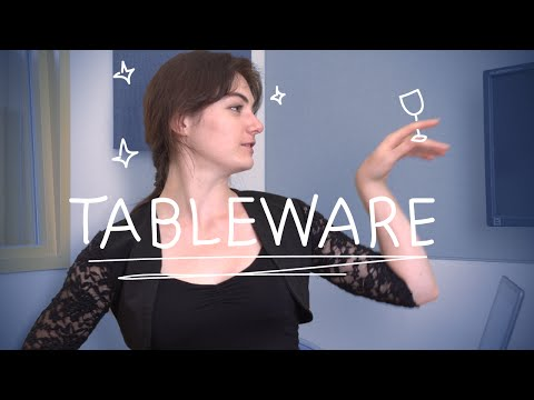 Weekly French Words with Lya - Tableware