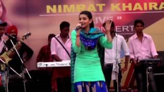 NIMRAT KHAIRA LIVE | TAN V CHANGA LAGDA ,HINDI FUSION