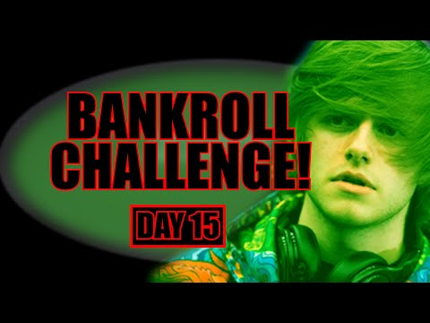 RISING THROUGH THE MICROSTAKES! $50 To $10,000 Bankroll Challenge - Day 15