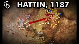 Battle of Hattin, 1187 - Saladin's Greatest Victory - معركة حطين