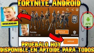 ✔️DOWNLOAD FORTNITE ANDROID FOR NON-COMPATIBLE DEVICES OR MEDIA RANGE IN APTOIDE REAL?
