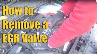 Audi 2.0 TDI EGR Valve Removal