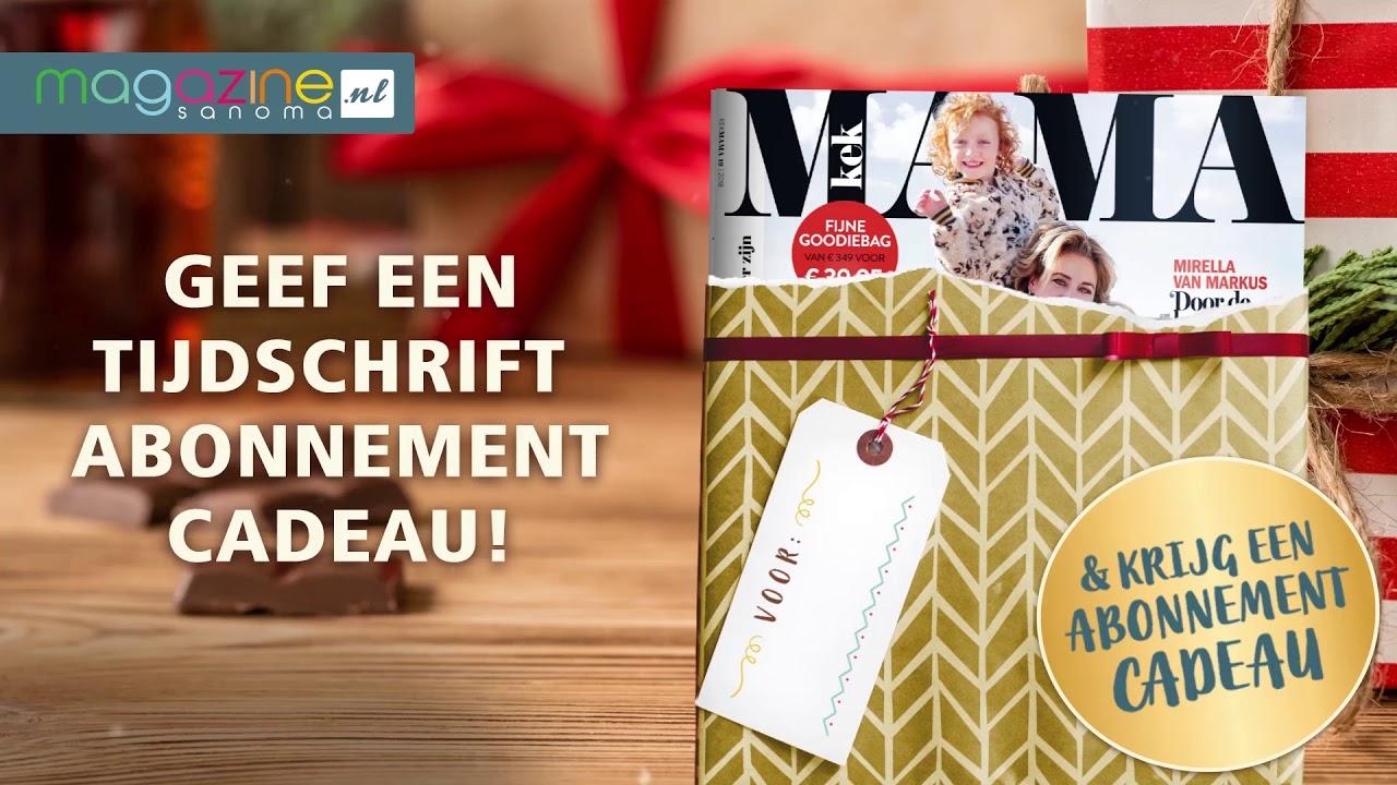Magazinenl Geef Een Abonnement Cadeau
