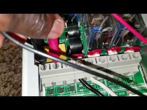 XANTREX XW HYBRID INVERTER/CHARGER/Off Grid Grid-Tie Battery Backup  (120V/240V 60Hz) Load Test