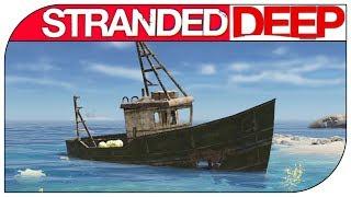 Stranded Deep как выжить НА ОСТРОВАХ ! ГДЕ ВЗЯТЬ ЕДУ И ВОДУ ! #1