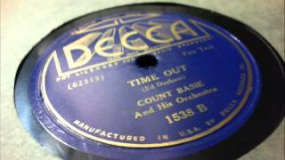 78 RPM: Count Basie & his Orchestra - Time Out